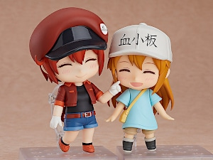 ells at Work! - Red Blood Cell & Platelet Nendoroid Figures