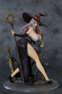 Dragon's Crown - Sorceress Darkness Crow Ver. 1/7 Scale Figure