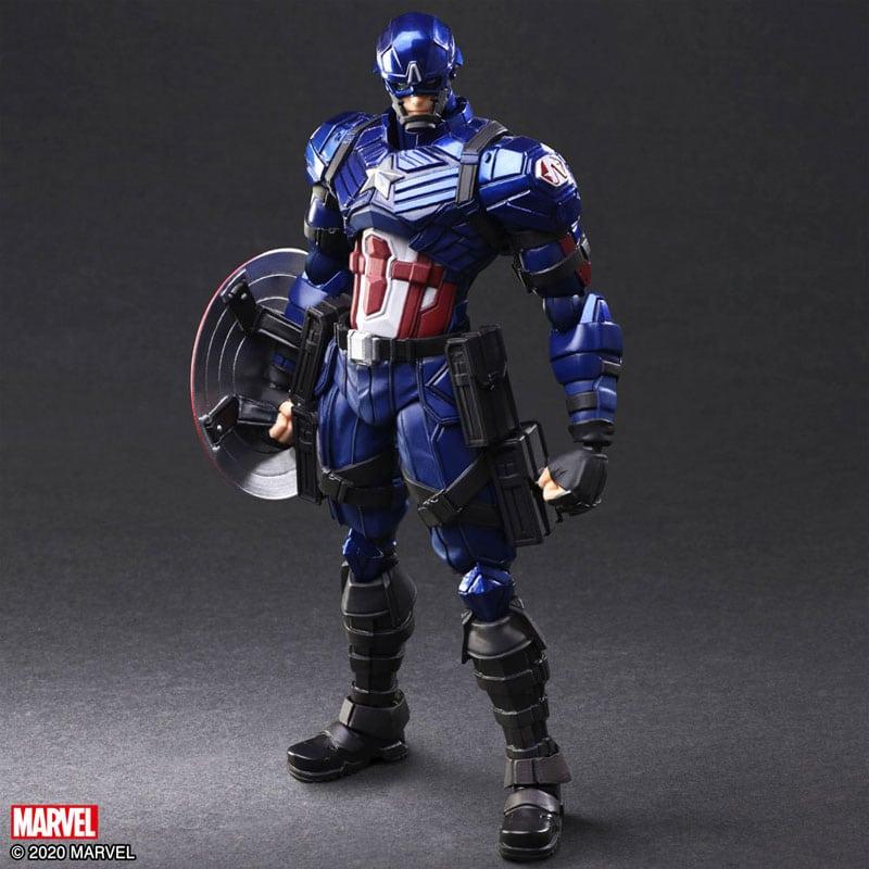 Marvel Universe Variant – Bring Arts Captain America Action Figure