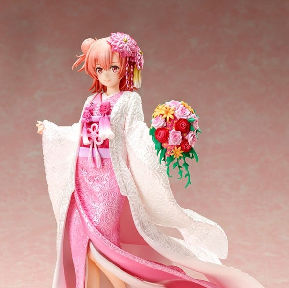 My Teen Romantic Comedy SNAFU - Yui Yuigahama White Kimono 1/7 Scale Figure