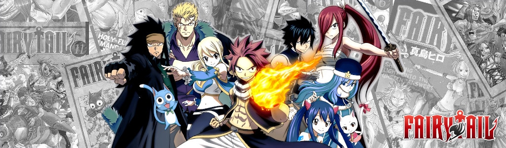 Anime Figures Zone - Fairy Tail Banner