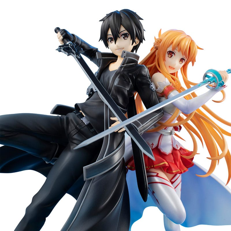 Sword Art Online - Kirito & Asuna SAO 10th Anniversary Figures