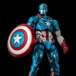 Marvel - Fighting Armor Captain America Action Figure