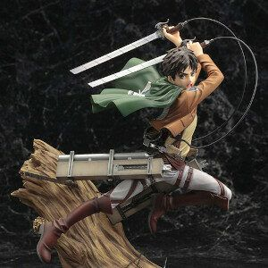 Attack on Titan - Eren Yeager Renewal Package Ver. 1/8 Scale Figure