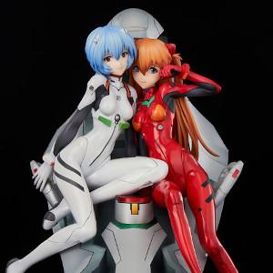Neon Genesis Evangelion - Rei & Asuka twinmore Object Figures