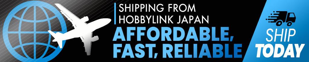Anime Figures Zone - HobbyLink Japan Shipping Banner