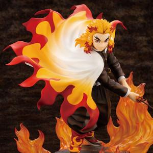 Flame Pillar Kyojuro Rengoku in figure form
