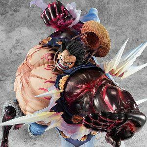 One Piece Luffy gear 4 figure
