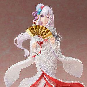 Re:ZERO - Starting Life in Another World - Emilia Shiromuku Ver. 1/7 Scale Figure