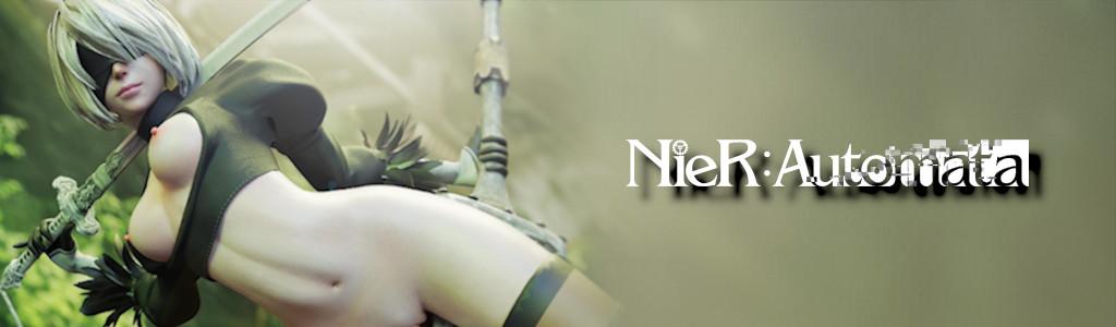 Anime Figures Zone - NieR:Automata Banner
