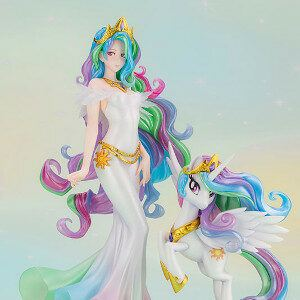Princess Celestia and her unicon
